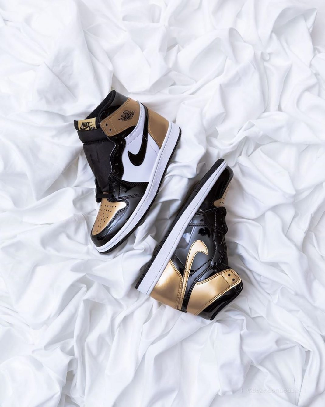 Gold toes ...