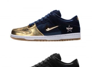 @supremenewyork x @nike will be releasing a trio of SB Dunk Lows on September 12...