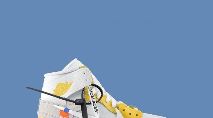 Would you cop the 'Yellow' Off-White AJ1?  @VirgilAbloh's 'Figures of Speech' ex...