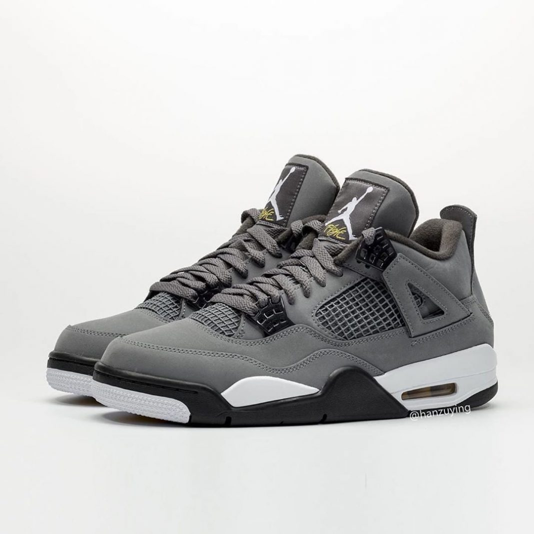"""Here's a first look at the """"Cool Grey"""" Air Jordan 4 Retro. Thoughts? : 08/03/19 ..."""
