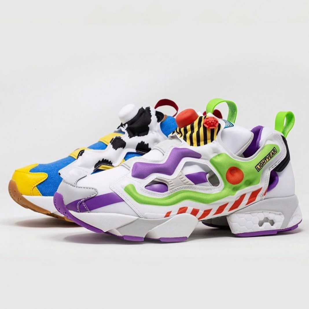 Check out these unreleased @baitme x Toy Story @Reebok Instapump Fury's  Would y...