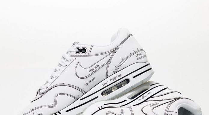 """Here's a close-up of the @Nike Air Max 1 Tinker """"Schematic Not For Resale."""" To s..."""