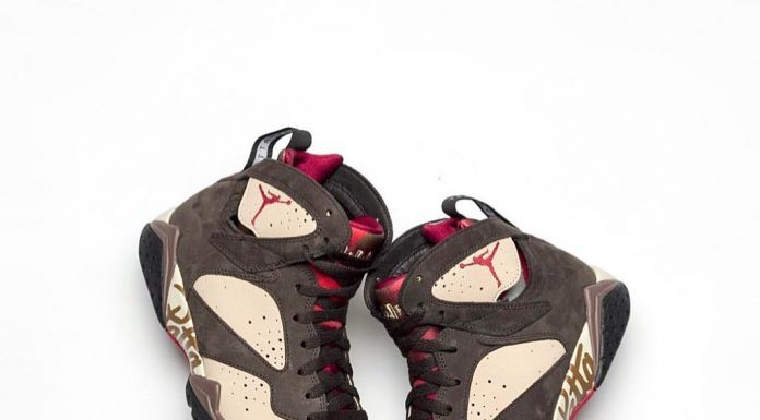 Another look at Patta's upcoming Air Jordan 7 collaboration is revealed today by...