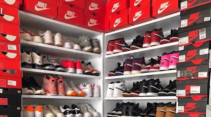 Closet goals ...