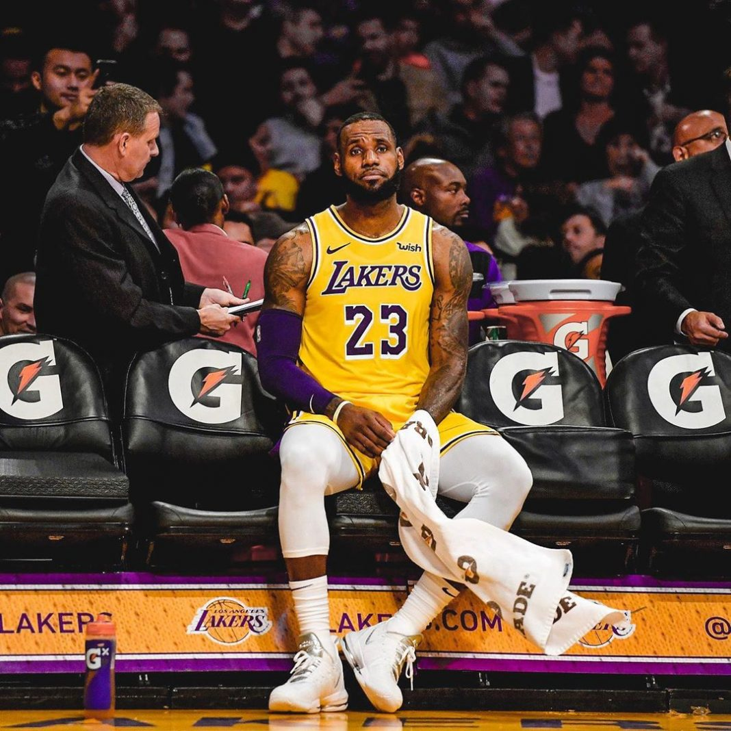 Breaking: The Los Angeles Lakers are sitting LeBron James for the remainder of s...