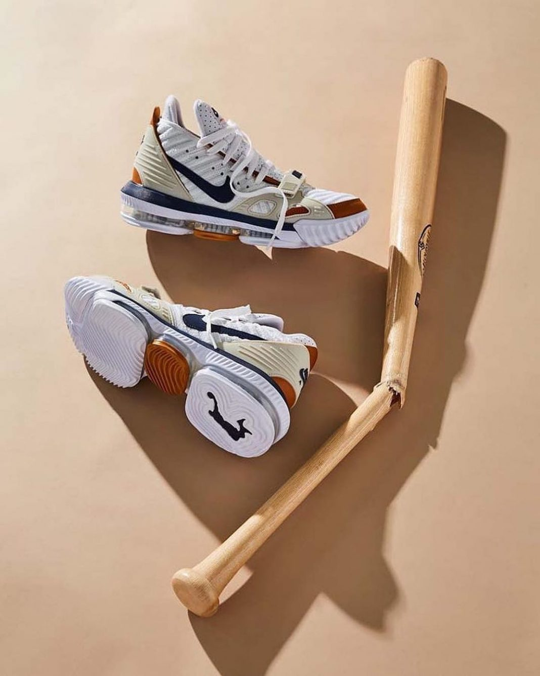 "King James' ""Medicine Ball"" Nike Air Trainer 3 inspired LeBron 16 drops tomorrow..."