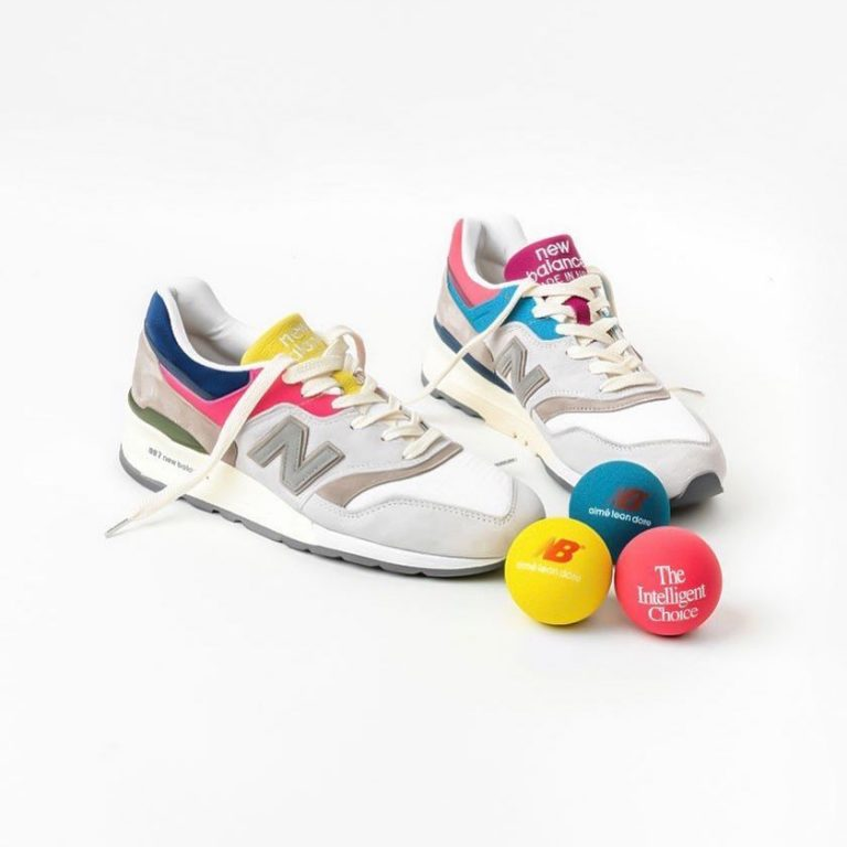 Aimé Leon Dore's much-anticipated New Balance 997 is set to release tomorrow, Ap…
