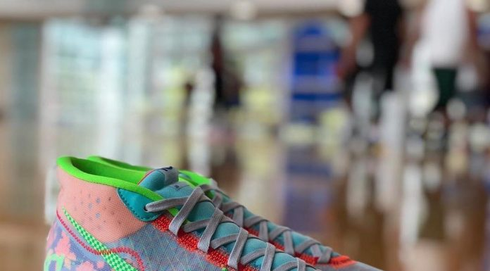 Here's a first look at this year's EYBL Nike KD12  Thoughts?...