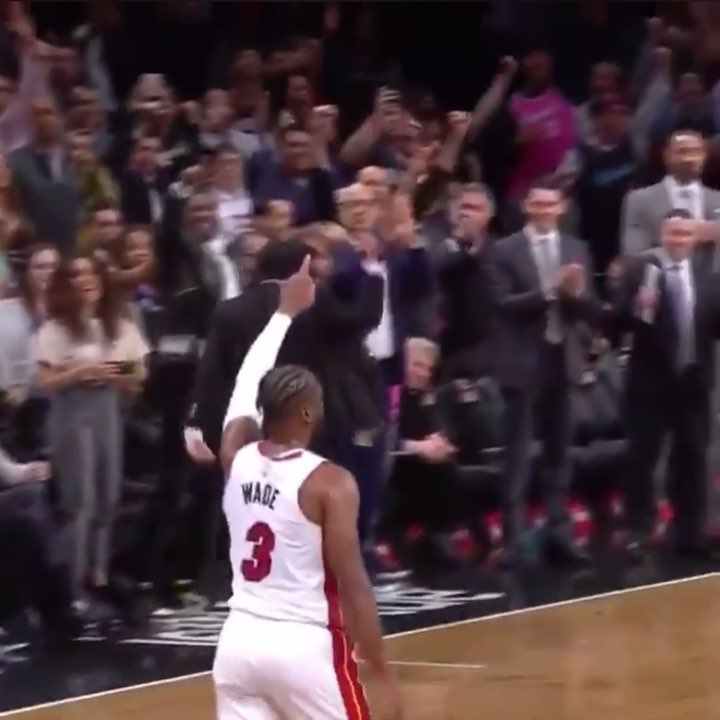 @DwyaneWade has recorded a triple-double in his final NBA game#OneLastDance  @NB...
