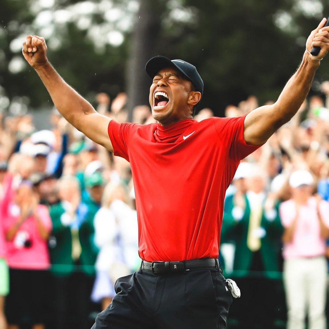 It's crazy until you do it, again. Congratulations to @TigerWoods on winning his...