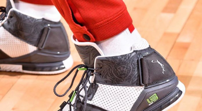P.J. Tucker plays ZERO games when it comes to his #KicksOnCourt   Bill Baptist/N...