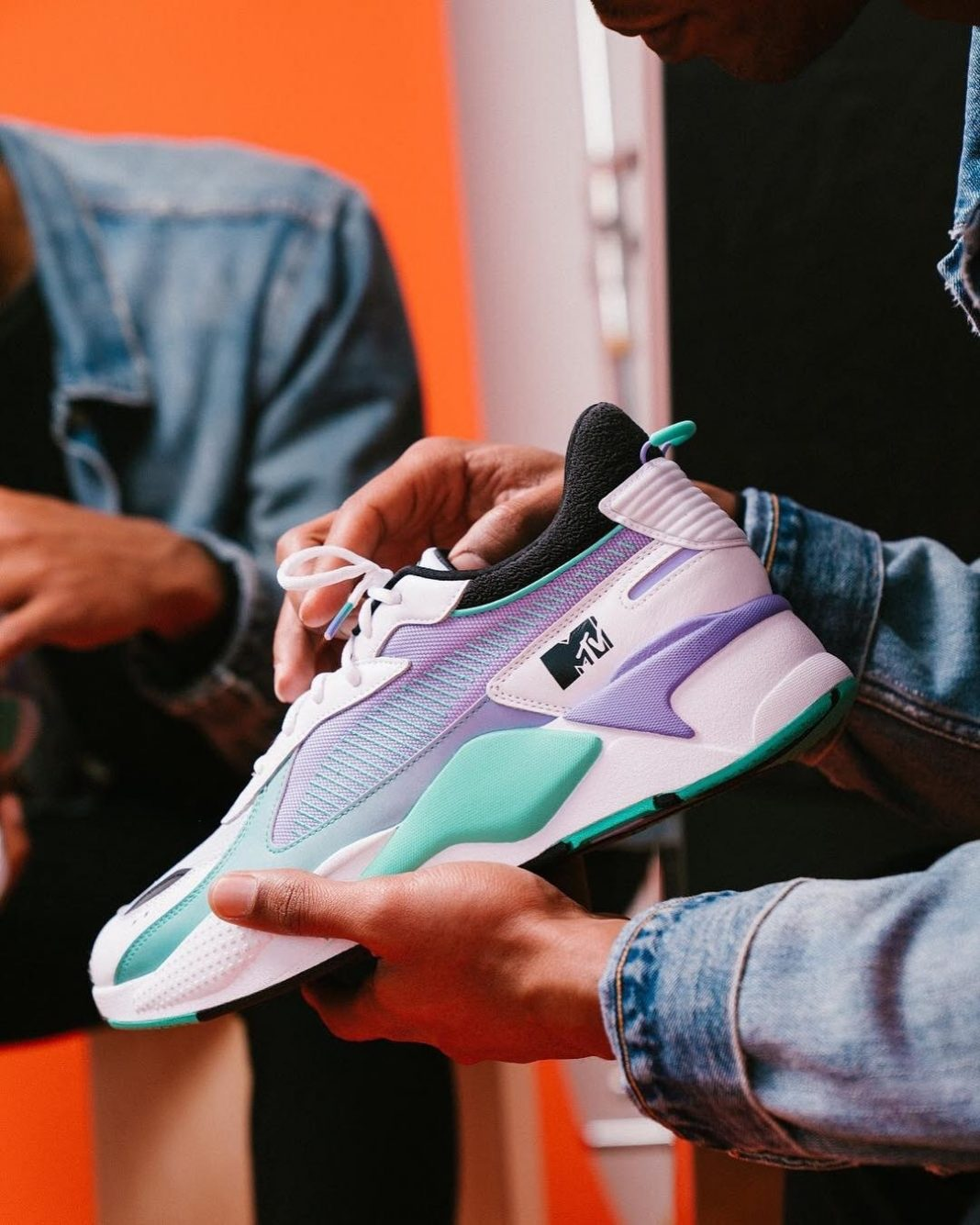 I want my MTV   Music Television's spring-ready Puma RS-X is now available at se...