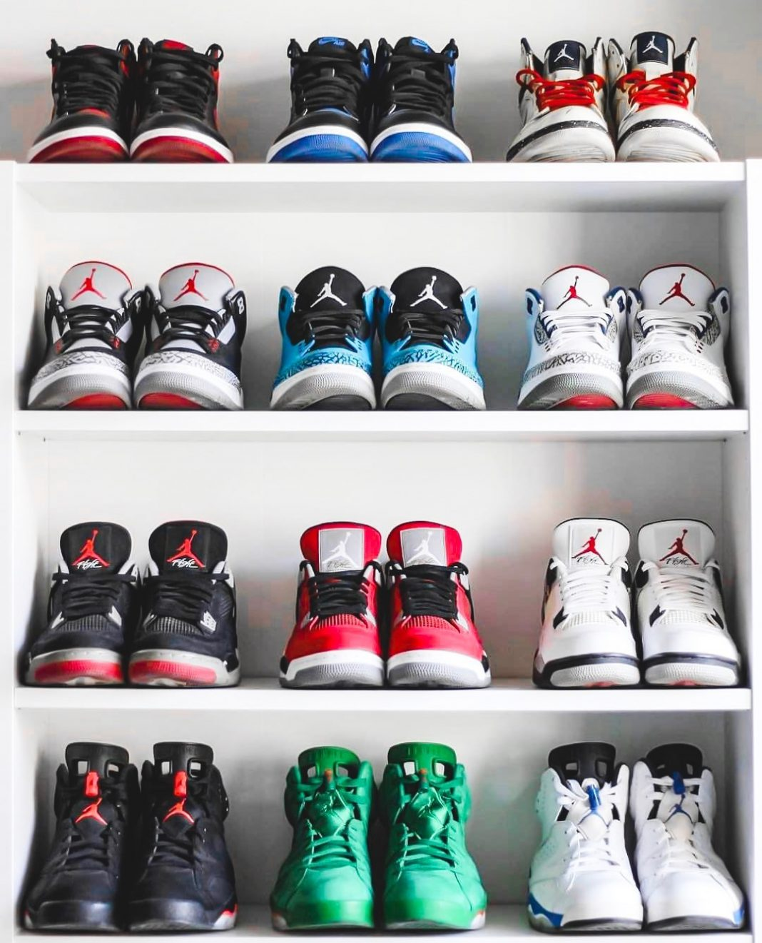 Pick a shelf ...