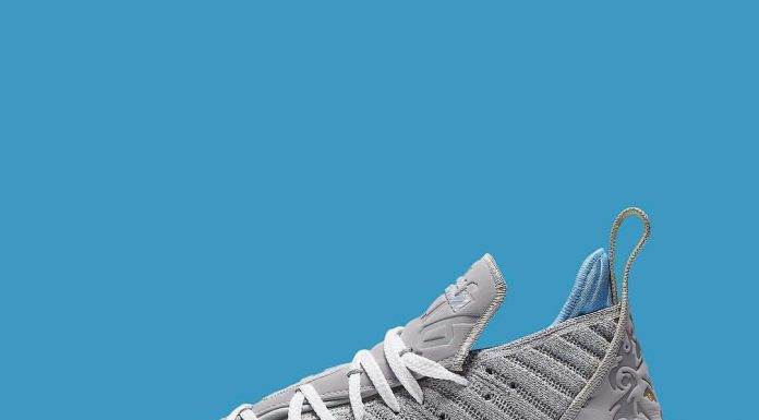 """On April 19th, King James' Nike LeBron 16 will take on the Lakers' """"MPLS"""" colorw..."""